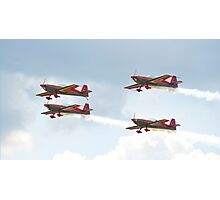 Royal Jordanian Falcons - RAF Waddington Airshow 2011 Photographic Print