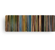 Moviebarcode: Primer (2004) Canvas Print