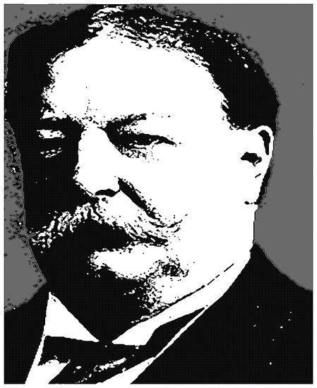 William Howard Taft by OTIS PORRITT