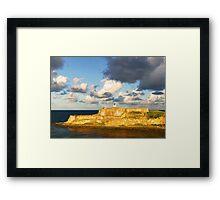 Castillo San Felipe del Morro - 3 Framed Print