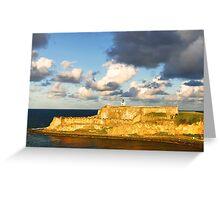 Castillo San Felipe del Morro - 3 Greeting Card
