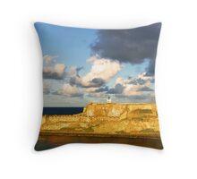 Castillo San Felipe del Morro - 3 Throw Pillow