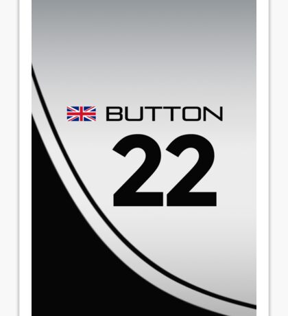 F1 2014 - #22 Button Sticker