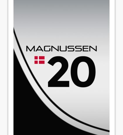 F1 2014 - #20 Magnussen Sticker