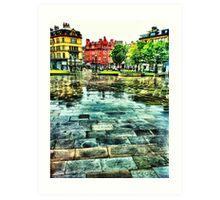 Bradford centenary square Art Print