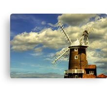 Norfolk Windmill Canvas Print