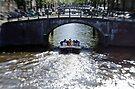 Amsterdam: Under the Bridges by Kasia-D
