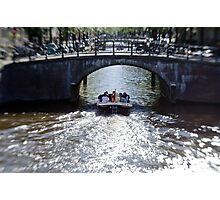 Amsterdam: Under the Bridges Photographic Print