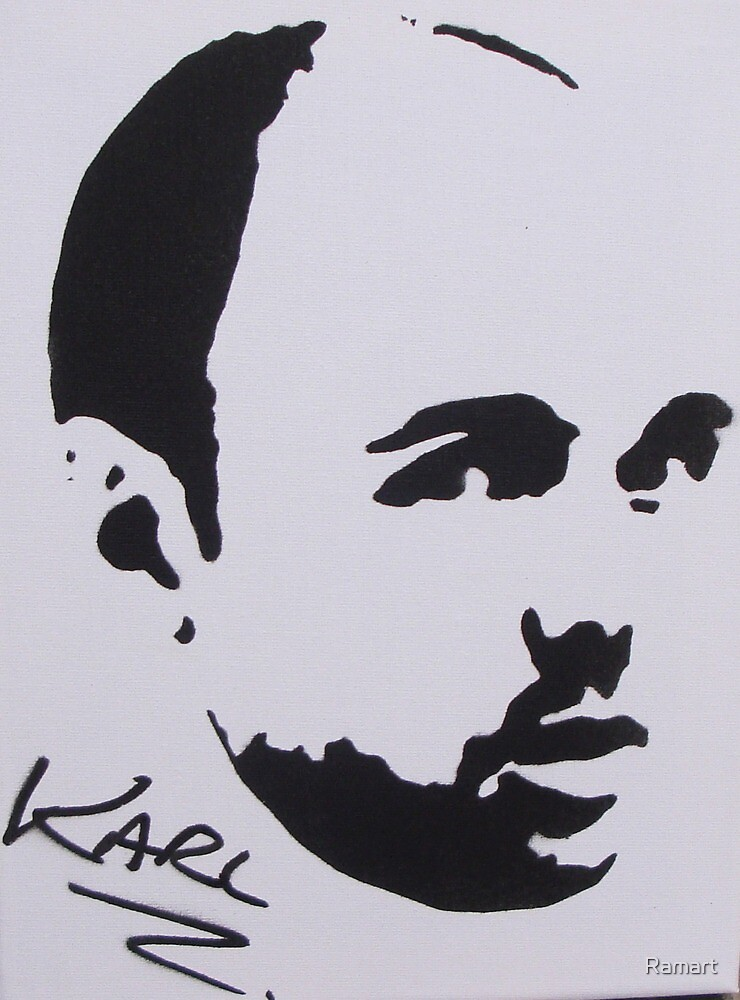 Karl Pilkington by Ramart