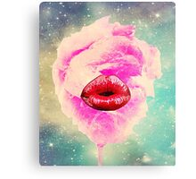 Cotton sweet mouth Metal Print