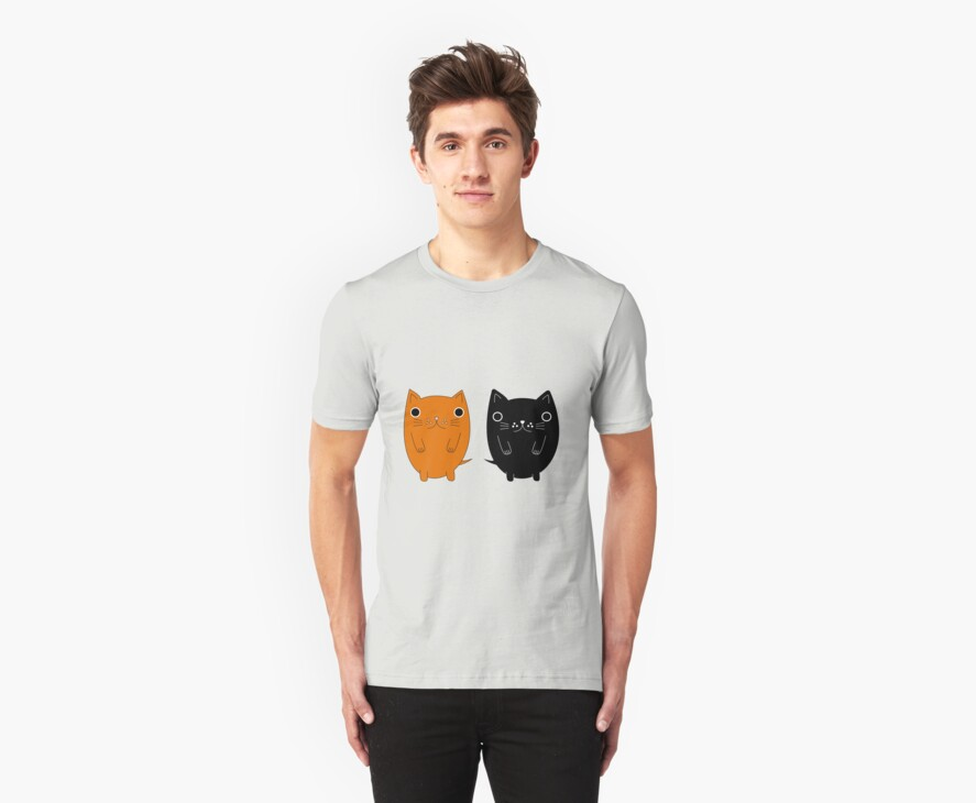 Two silly Cartoon Cats by MFSdesigns