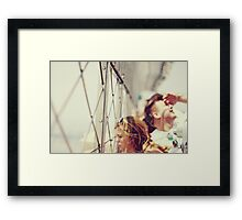 How High Framed Print