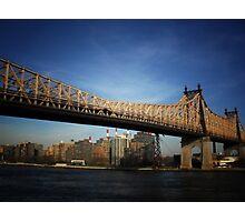 Ed Koch Queensboro Bridge - New York City Photographic Print