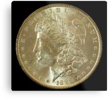1888 Coin Metal Print