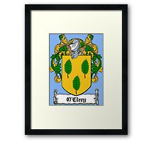 O'Clery (Galway) Framed Print