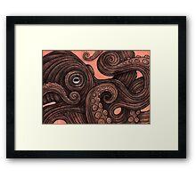The Octopus Framed Print