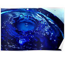 Duke Blue Dropplet Poster