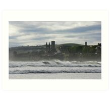a blustery day Art Print