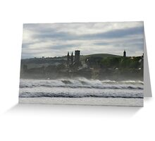 a blustery day Greeting Card