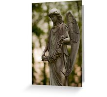 Angel From Above Greeting Card