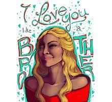 Cersei's Valentine's Day Photographic Print