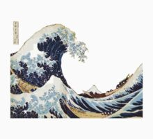 hokusai great wave by ahadley93