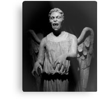 Doctor Who - Don't blink, whatever you do, don't blink Metal Print
