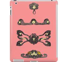 Hair Made of Flowers 1 iPad Case/Skin