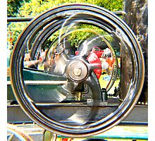 Big Wheels Keep On Turnin'! Photographic Print