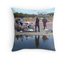Repairs, Tricycle Races, Adelaide Throw Pillow