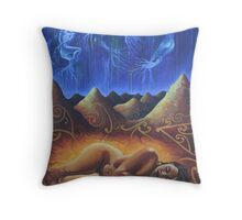 Seeds on the Wind Throw Pillow