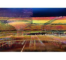 amusement park 1 Photographic Print