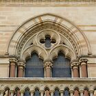 Window detail, Bonython Hall, Adelaide by Adam Jan Dutkiewicz