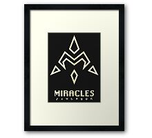 Digimon - Crest of Miracles Framed Print