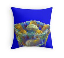 A Cup of Fruits Throw Pillow