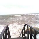 Hurricane Waves in the Sound by Ryan Kleczka