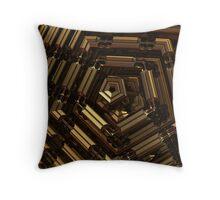 Euclid's Pentagon Throw Pillow