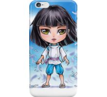 Haku from Spirited Away - chibi 1 iPhone Case/Skin