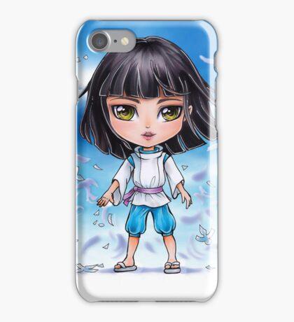 Haku from Spirited Away - chibi 1 iPhone Case/Skin