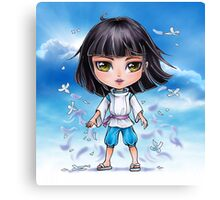 Haku from Spirited Away - chibi 1 Canvas Print