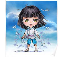 Haku from Spirited Away - chibi 1 Poster