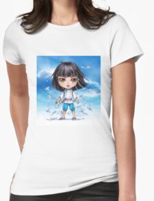 Haku from Spirited Away - chibi 1 Womens Fitted T-Shirt