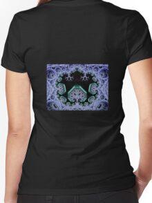 Seied - Shroomworld - Burning Man 2011 hoody Women's Fitted V-Neck T-Shirt