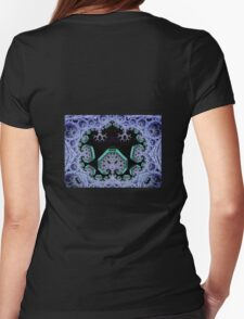 Seied - Shroomworld - Burning Man 2011 hoody Womens Fitted T-Shirt