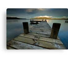 Great Sunset Recipe Canvas Print
