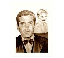 John and Carolyn Art Print