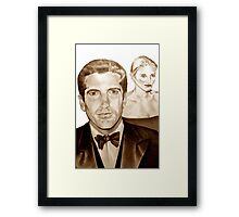 John and Carolyn Framed Print