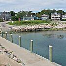 Boat Ramp at Monahan's Dock - Narragansett RI by Jack McCabe