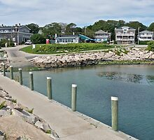 Boat Ramp at Monahan's Dock - Narragansett RI by Jack McCabe