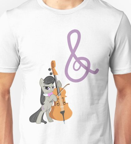 Octavia and Cutie Mark Unisex T-Shirt